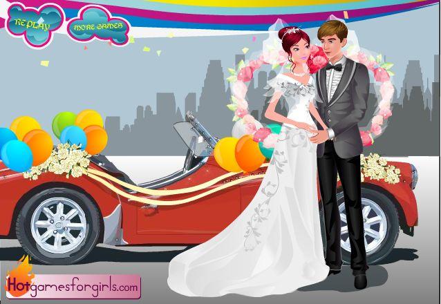 viste a la novia 2 - juegos de amor - vestir
