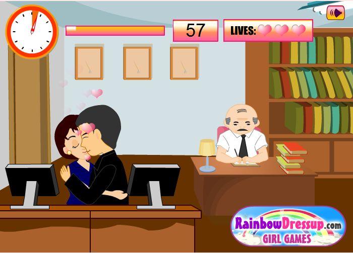 Juego de besos en la oficina america 39 s best lifechangers for Oficina videos porno