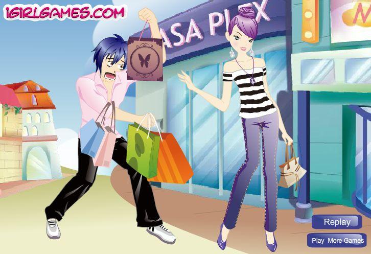 novios de compras - juegos de amor - vestir